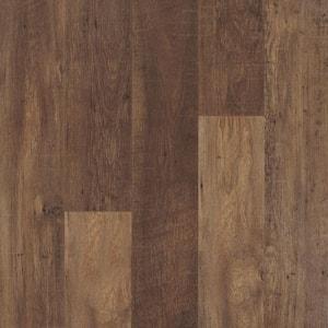 Outlast+ 6.14 in. W Lawrence Chestnut Waterproof Laminate Wood Flooring (16.12 sq. ft./case)