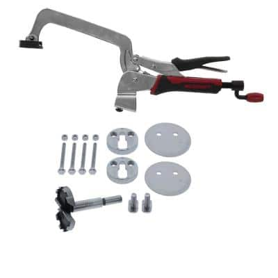 6 in. Bench Clamp and Attachment Set - Mount Clamp to any Surface