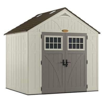 Tremont 7 ft. 1-3/4 in. x 8 ft. 4-1/2 in. Resin Storage Shed
