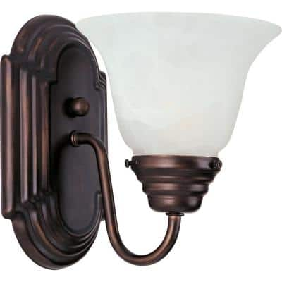 Essentials 1-Light Oil-Rubbed Bronze Sconce