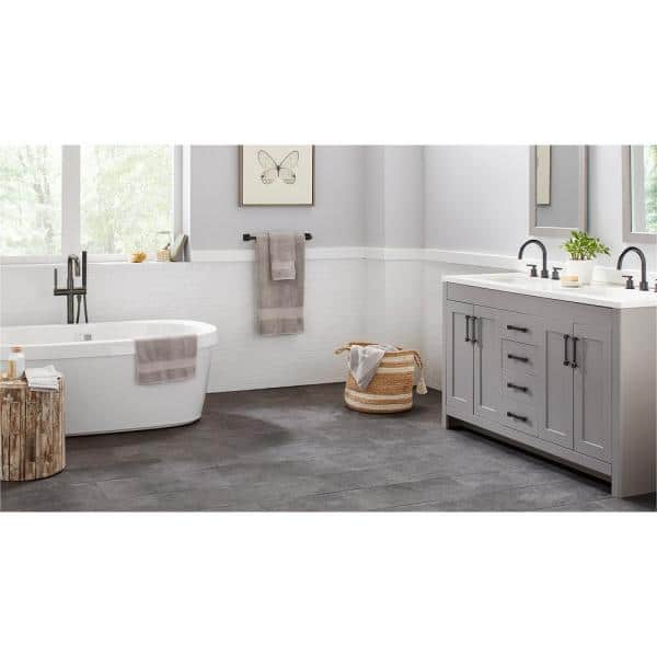 Daltile Restore Bright White 12 In X 12 In X 6 35 Mm Ceramic Mosaic Wall Tile 0 83 Sq Ft Piece Re1524bwhd1p2 The Home Depot
