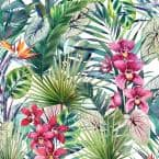 Aloha Tropical Multi Paper Strippable Wallpaper (Covers 56 sq. ft.)