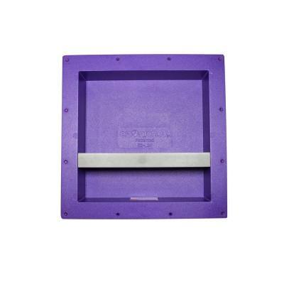 14 in. x 14 in. x 4 in. Large Square Niche with Shelf