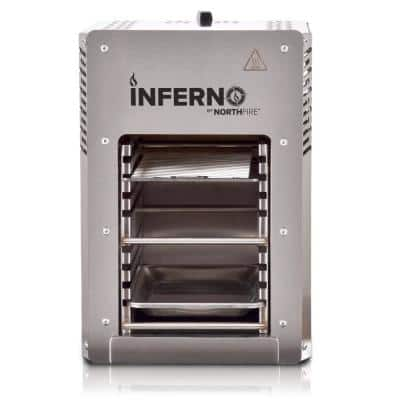 Inferno Single Burner Propane Gas Grill in Steel