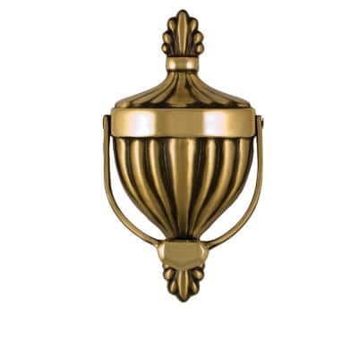 Brass Victorian Urn Door Knocker