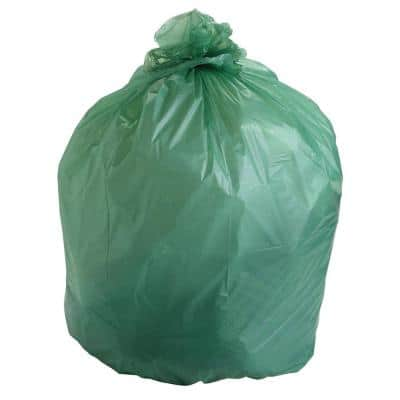 13 Gal. EcoSafe Compostable Trash Bags (45 Per Box)