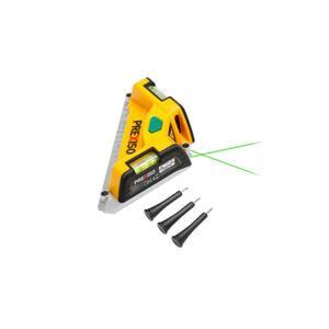 32 ft. Tile Laser Square Laser Level Projection Range One-Button Operation, (1-Pack)