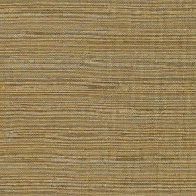 Qixia Copper Grasscloth Peelable Roll (Covers 72 sq. ft.)