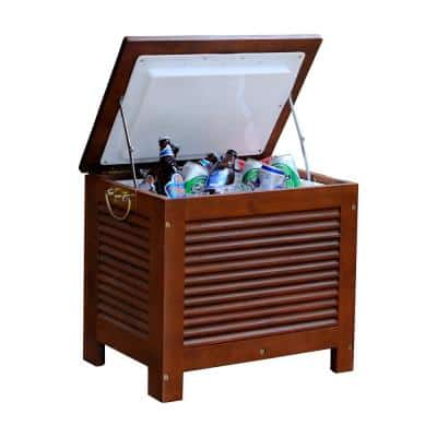 54 qt. Wooden Patio Cooler