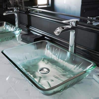 Niko Single-Handle Vessel Sink Faucet in Chrome
