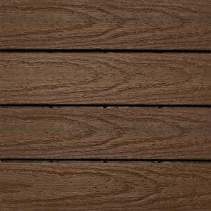 UltraShield Naturale 1 ft. x 1 ft. Quick Deck Outdoor Composite Deck Tile in Brazilian Ipe (10 sq. ft. per box)