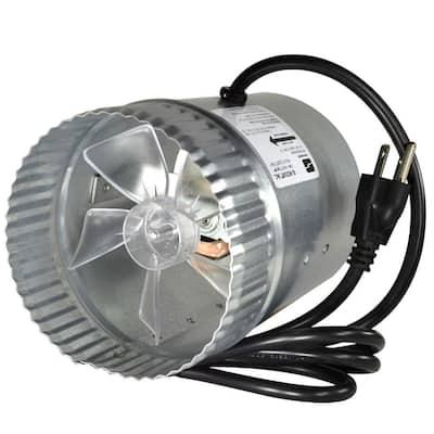 5 in. Corded In-Line Duct Fan