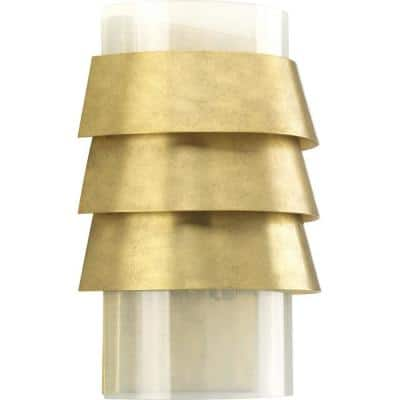 Jeffrey Alan Marks Sandbar Brushed Brass Wall Sconce