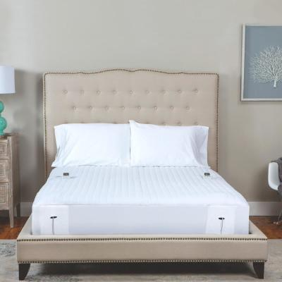 16 in. Twin Polyester Mattress Pad