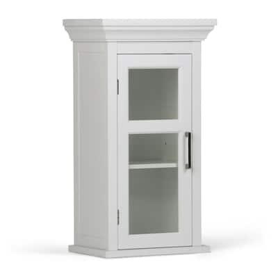 Avington 26.9 in. H x 15 in. W Single Door Wall Cabinet in Pure White