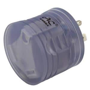 RV Adapter 15 Amp Household Plug to RV TT-30 30 Amp 125-Volt RV Female Connector with Power Indicator