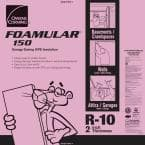 FOAMULAR 150 2 in. x 4 ft. x 8 ft. R-10 Scored Squared Edge Rigid Foam Board Insulation Sheathing