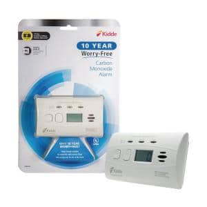 10 Year Worry-Free Sealed-In Lithium Battery Carbon Monoxide Detector with Digital Display