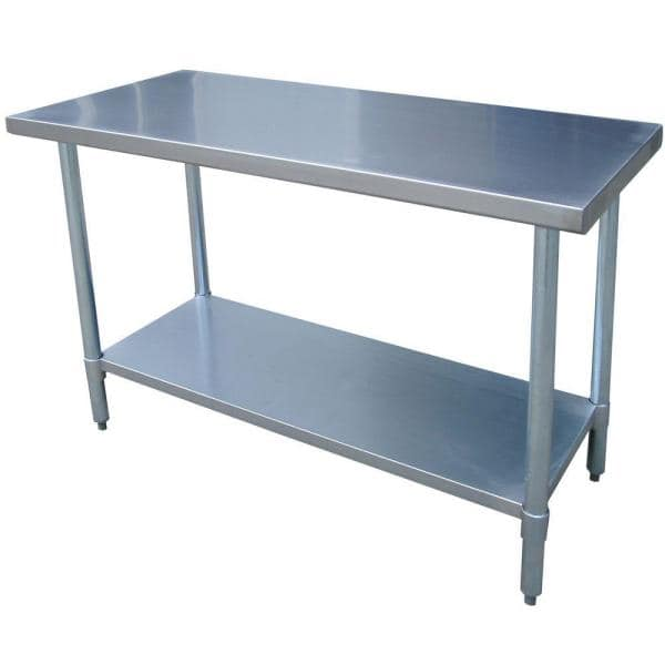 Sportsman - Series 49 in. Stainless Steel Kitchen Utility Table