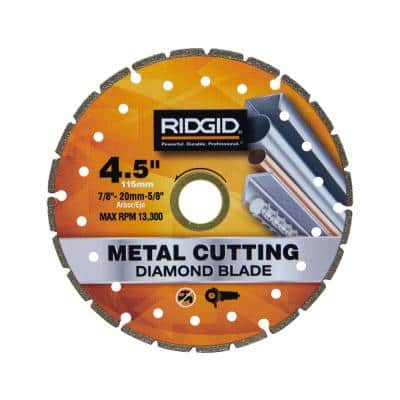 4.5 in. Metal Cutting Diamond Blade