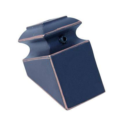 1/2 in. Oil Rubbed Bronze Angled Metal Shoe