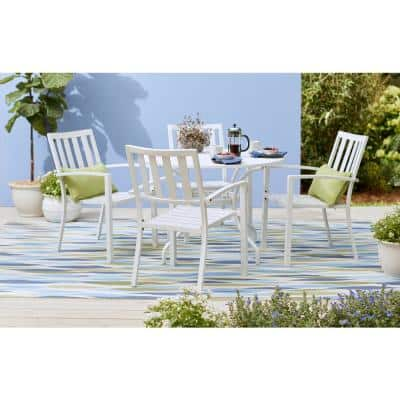 Bits and Pieces Seaglass 8 ft. x 11 ft. Geometric Modern Indoor/Outdoor Area Rug