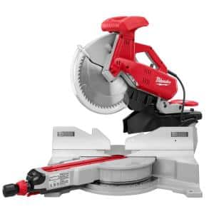 12 in. Dual Bevel Sliding Compound Miter Saw