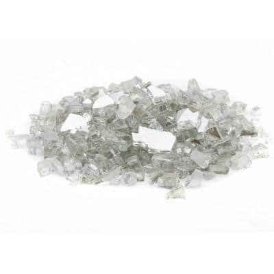 1/4 in. 20 lb. Crystal Reflecitive Fire Glass