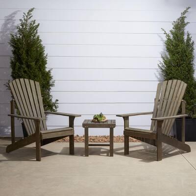 Vifah Renaissance 3-pc Wood Patio Conversation Set V1843SET9