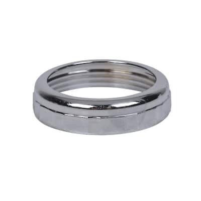 1-1/2 in. x 1-1/2 in. Sink Drain Pipe Zinc Slip-Joint Nut