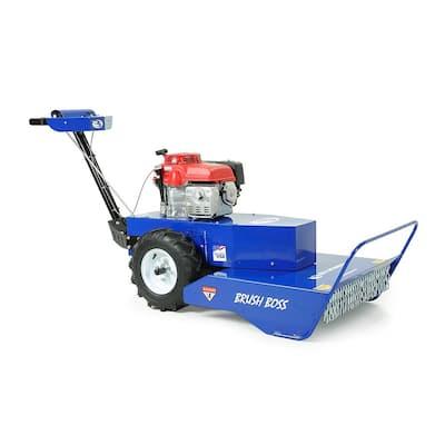 Bluebird Brush Boss 26 in. 10.2 HP Honda GXV390 Gas Engine Commercial Brush Cutter Hydro-Drive Walk Behind Mower
