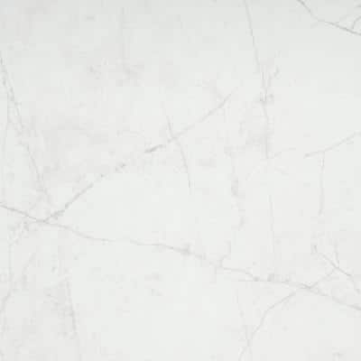 Sterlina White 23.62 in. x 23.62 in. Polished Marble Look Porcelain Floor and Wall Tile (15.5 sq. ft./Case)