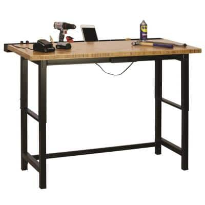 6 ft. Bamboo Top Workbench