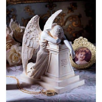 7.5 in. H Angel of Grief Monument Desktop Statue