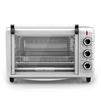 Crisp 'N Bake 1500 W 6-Slice Stainless Steel Toaster Oven