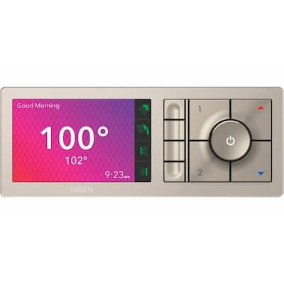 U by MOEN 4-Outlet Digital Shower Controller in Terra Beige