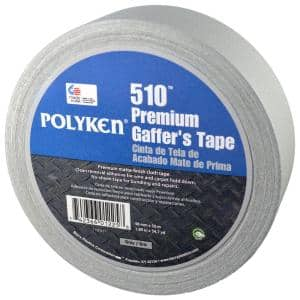 1.89 in. x 54.7 yd. 510 Professional-Grade Gaffer Duct Tape in Silver