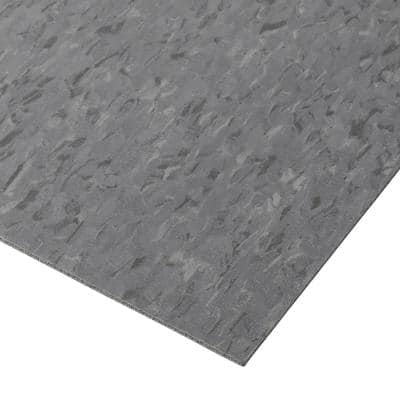 Imperial Texture VCT 12 in. x 12 in. Charcoal Standard Excelon Commercial Vinyl Tile (45 sq. ft./case)