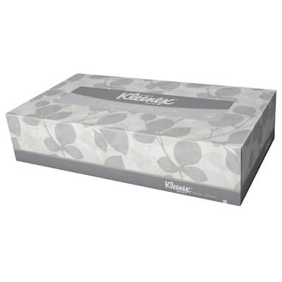 8.40 in. x 8.40 in. Facial Tissue 2-Ply (1500 per Carton)