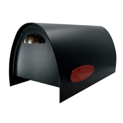 Spira Large Black Mailbox