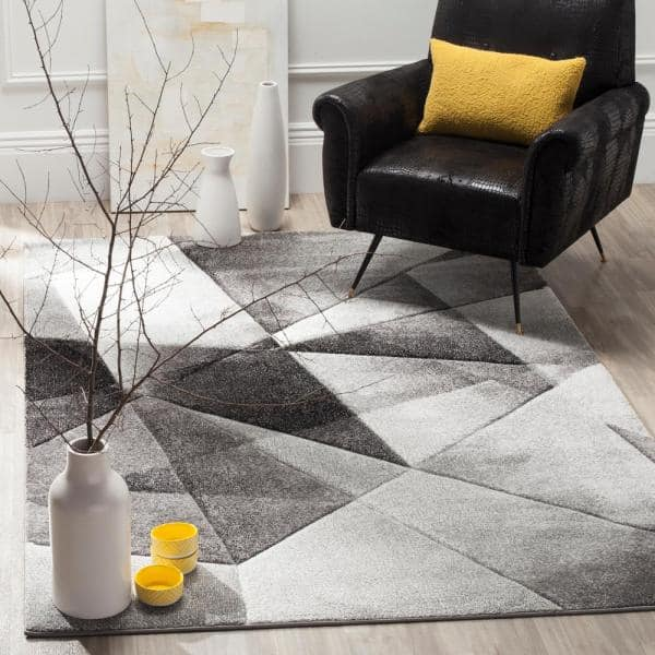 Safavieh Porcello Light Gray Charcoal 4 Ft X 6 Area Rug Prl6939d The Home Depot