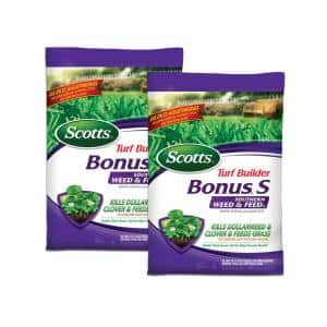 Turf Builder Bonus S 17.47 lb. 10,000 sq. ft. Southern Weed and Feed Fertilizer (2-Pack)