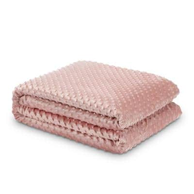 Eshe Blush Weighted Blanket 6 lbs. 41 in. x 60 in.