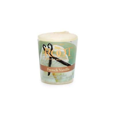 20-Hour French Vanilla Scented Votive Candle (Set of 18)
