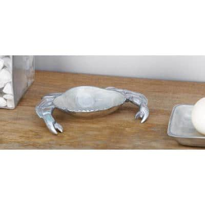 Decorative Aluminum Crab-shaped Tray (3-Pack)
