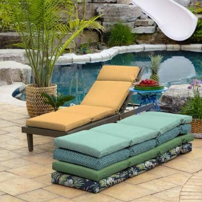 21 x 72 Shirt Texture Outdoor Chaise Lounge Cushion