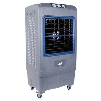 5300 CFM 3-Speed Portable Evaporative Cooler for 1650 sq.ft.