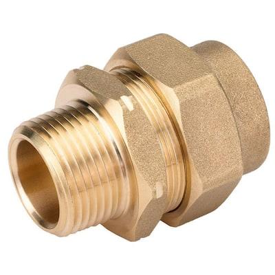 3/4 in. CSST x 3/4 in. MIPT Brass Male Adapter