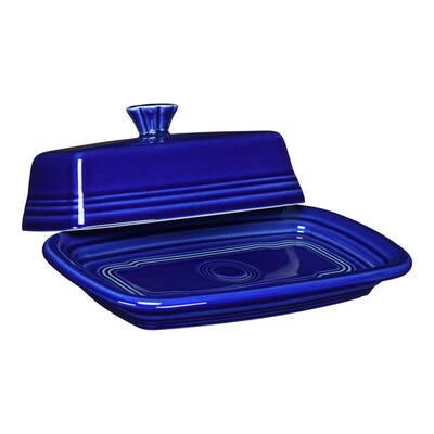 Twilight XL 8 oz. Ceramic Covered Butter Dish (2-Piece)