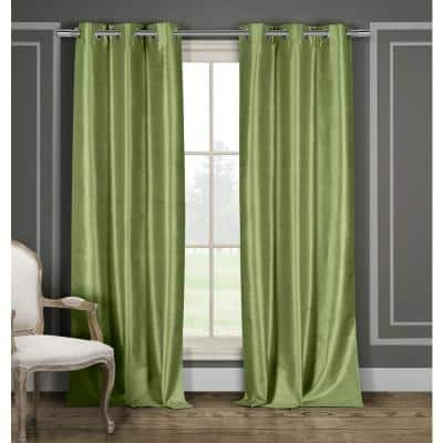 Sage Thermal Grommet Blackout Curtain - 36 in. W x 84 in. L